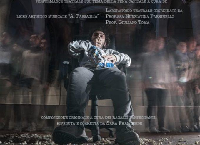 NOME IN CODICE rappresentazione teatrale sul tema della pena di morte