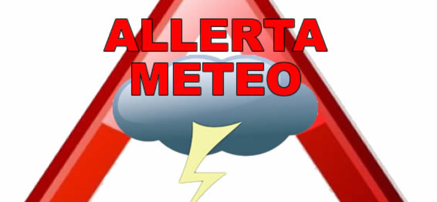 allerta meteo, con codice giallo nella nostra provincia