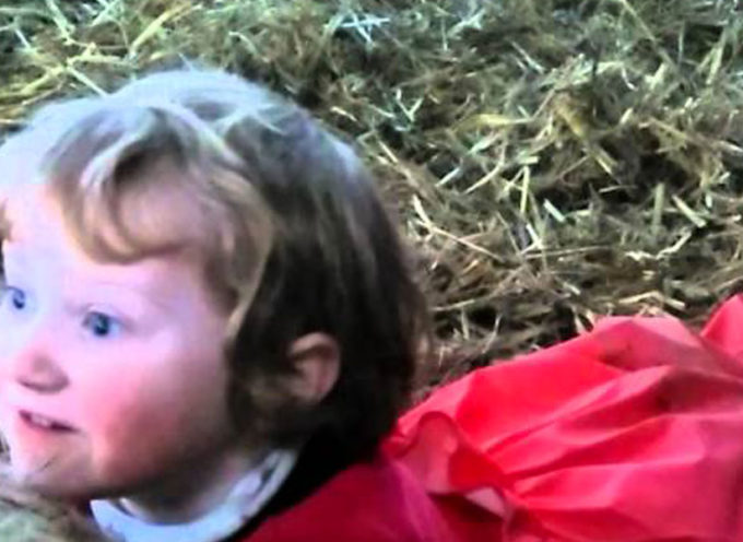 """Galles, bambina di tre anni fa nascere un agnellino. Le incredibili immagini della """"baby ostetrica"""" [Video]"""