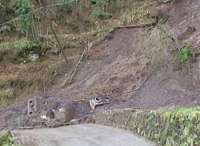Ancora interrotta la strada comunale che collega Brucciano a Calomini