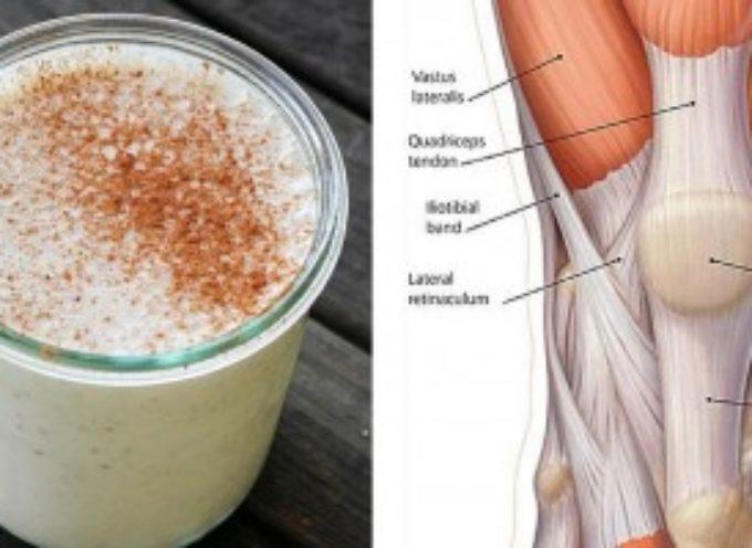 Come preparare il frullato di ananas e cannella per rinforzare tendini e legamenti del ginocchio