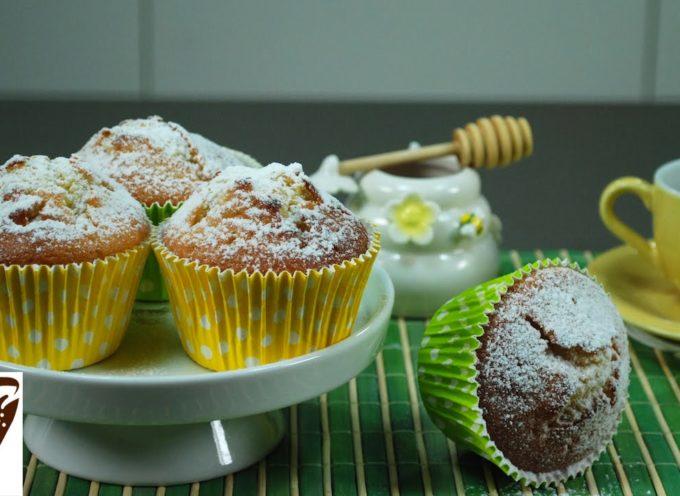 Muffin allo yogurt: dolci veloci (yogurt muffins recipe) [VIDEO]