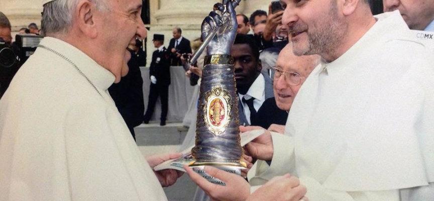 """in marcia con San Rocco il """"camminatore di Dio """""""