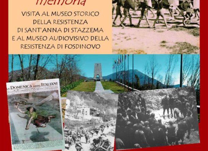 6 marzo – viaggio della memoria a Fosdinovo e Sant'Anna di Stazzema