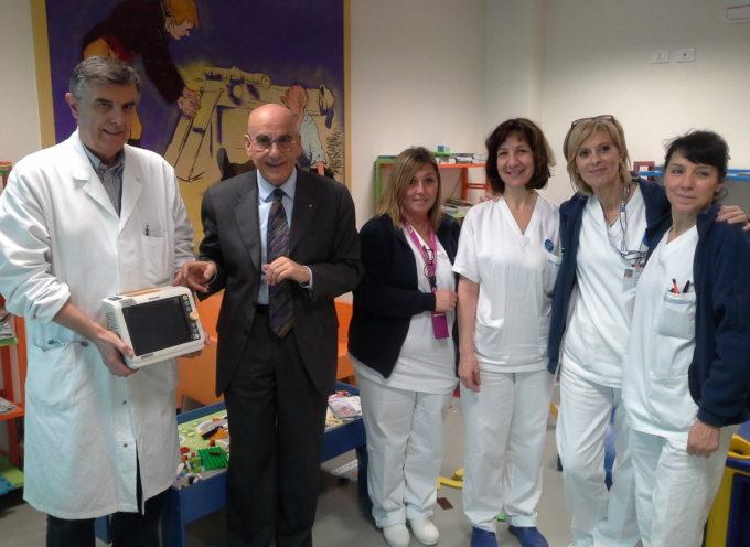 Donazione della BMW Lucar alla Pediatria dell'ospedale San Luca