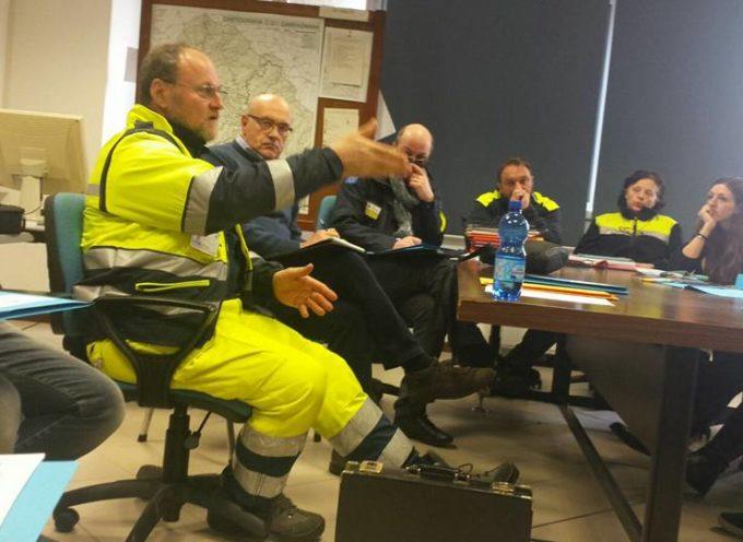 riunione  operativa per la protezione civile