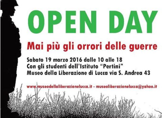 OPEN DAY AL MUSEO DELLA LIBERAZIONE DI LUCCA