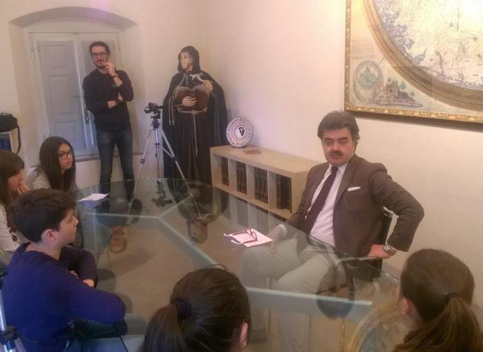 IL sindaco,Marchetti collabora con gli studenti della scuola media per un progetto sul pane di Altopascio