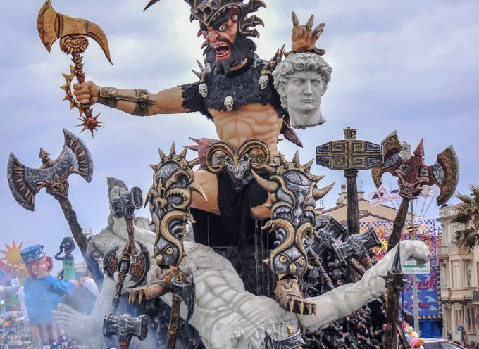 Gran finale per il Carnevale di Viareggio 2019