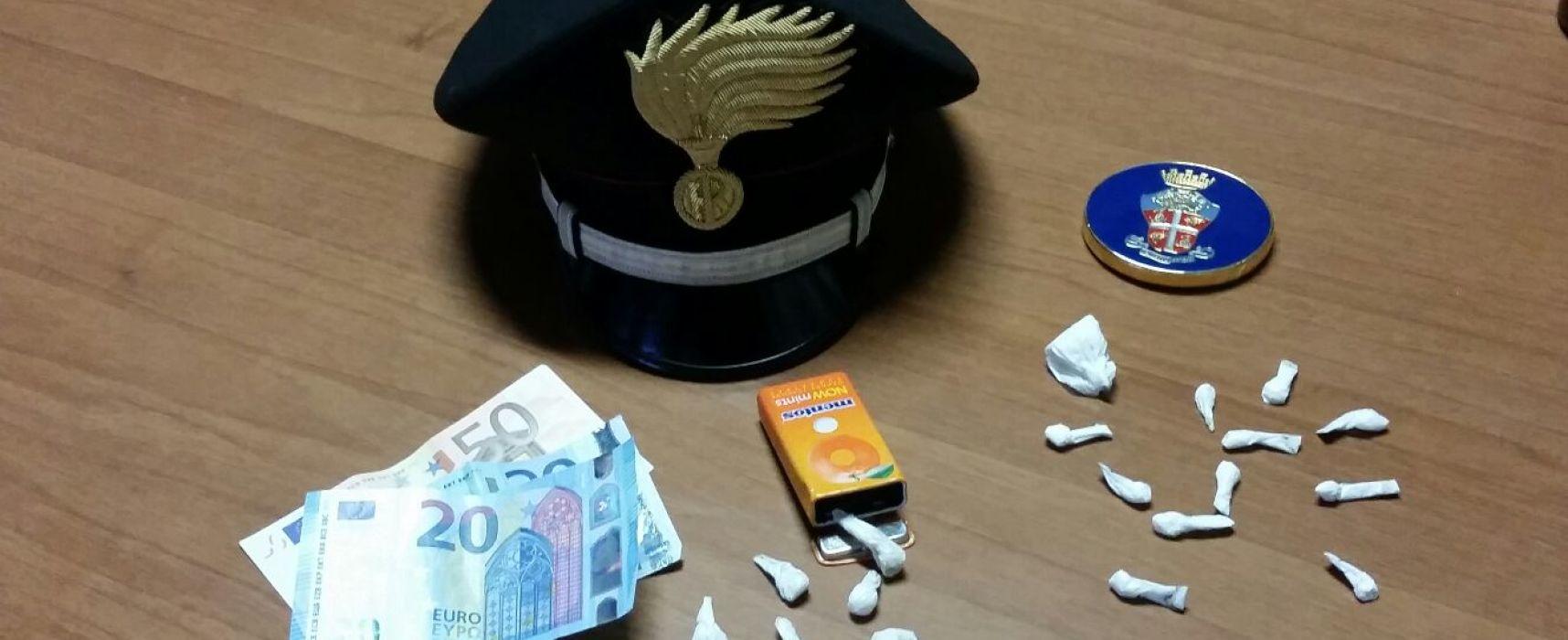 Ragazza di 19 anni arrestata a Lucca. Aveva con sé 8 dosi di cocaina e 14 dosi di eroina