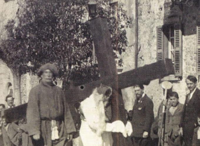 LE ORIGINI DEI CROCIONI   LA PASSIONE DI CRISTO IN GARFAGNANA