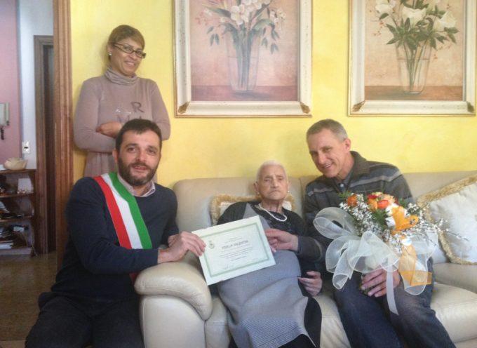 100 anni di Fidelia Valentini a Gallicano