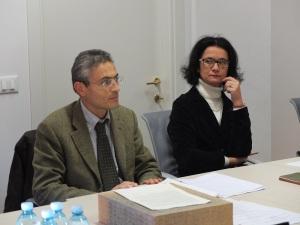 Ilaria Milianti e Marco Cattani