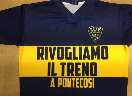 Rivogliamo il TRENO a Pontecosi, ecco il messaggio che arriva dal calcio dilettantistico della locale squadra di calcio
