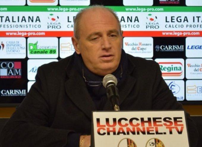 Presidente Bacci dopo  Lucchese-Rimini
