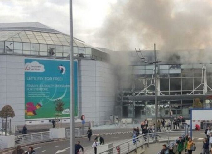 Identificati due attentatori dell'aeroporto di Bruxelles