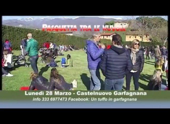 Pasquetta tra le nuvole a Castelnuovo garfagnana[VIDEO]