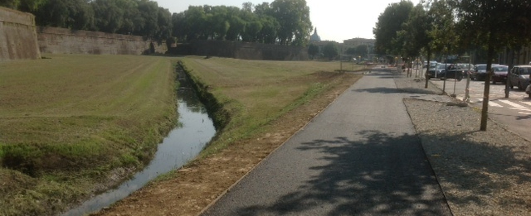 Lucca, sarà completata la pista ciclabile all'esterno delle mura