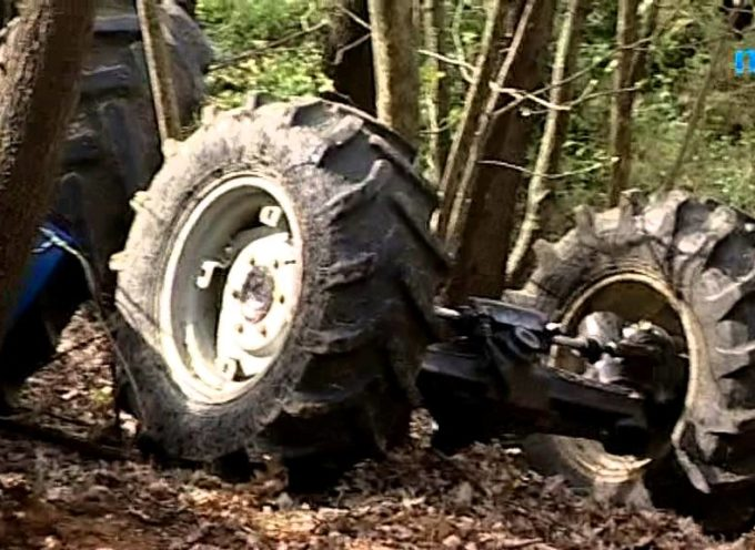PORCARI, Muore schiacciato sotto il trattore[VIDEO]