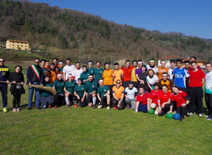 inizio Quidditch day , A MONSAGRATI