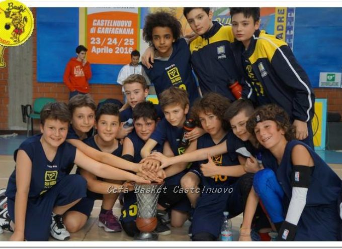 Il Figline Eagles (Fi) Vince la Fase Regionale della 25 Edizione del Torneo Internazionale di Minibasket