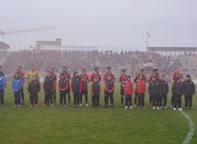 AS Lucchese-Pisa 1-1, ANCORA UN PAREGGIO