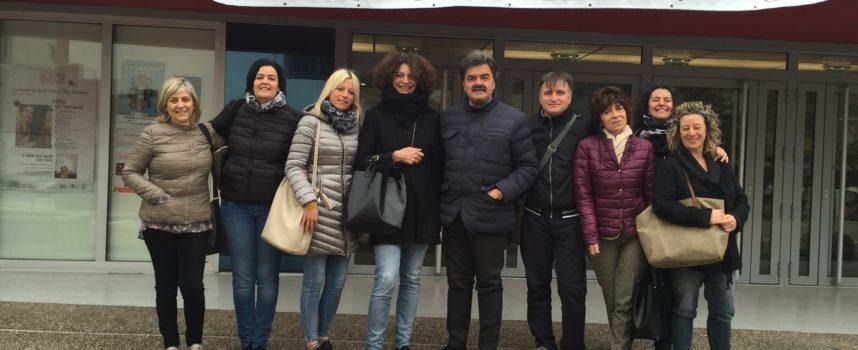 Delegazione altopascese in Francia al Salone dell'Infanzia