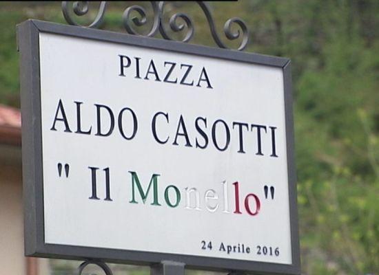 Una Piazza per Aldo Casotti detto il Monello ( Partigiano 15enne ucciso nel 44 )