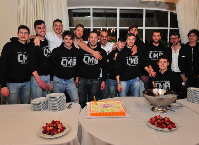 La cena della Geonova Lucca per festeggiare la promozione in C Gold