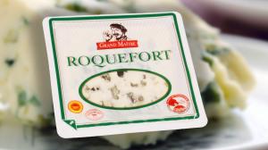 Roquefort Blauschimmelkäse der Marke -Grand Maitre-