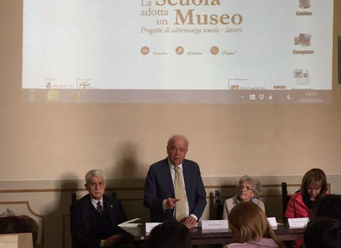 """""""LA SCUOLA ADOTTA UN MUSEO"""": PRESENTATO IL PROGETTO 2016…"""