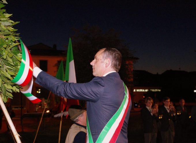 Sentita cerimonia per la Liberazione ieri sera (lunedì) a Capannori
