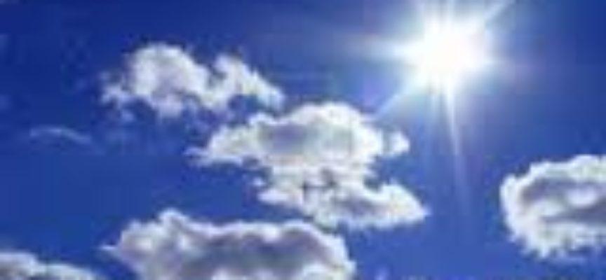 Il METEO da domenica 10 a martedì 12 aprile in VALLE DEL SERCHIO