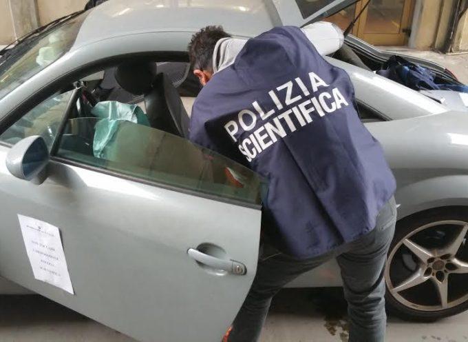 Ladri in fuga tentano di investire un poliziotto