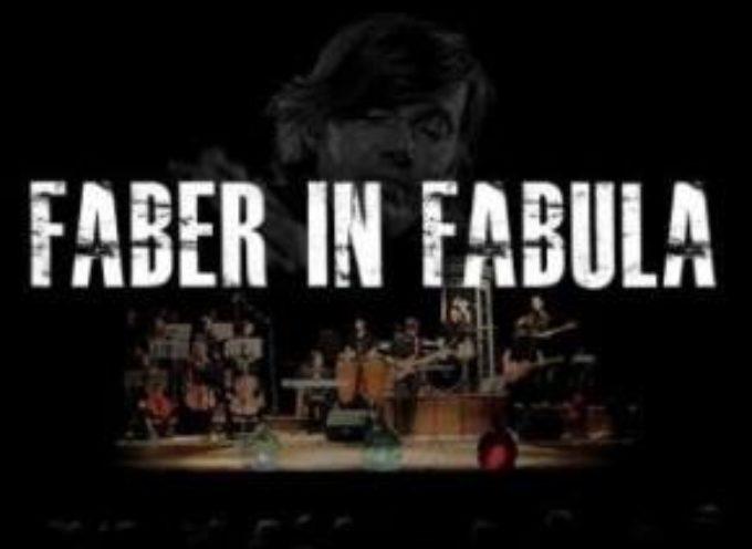 """ in Fabula"""", spettacolo teatrale e musicale dedicato all'opera di FABRIZIO DE ANDRE,  A  Barga """