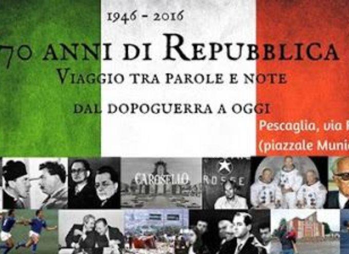 Pescaglia festeggia i 70 anni della Repubblica Italiana