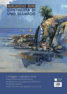 450locandina Mostra Maurizio Bini
