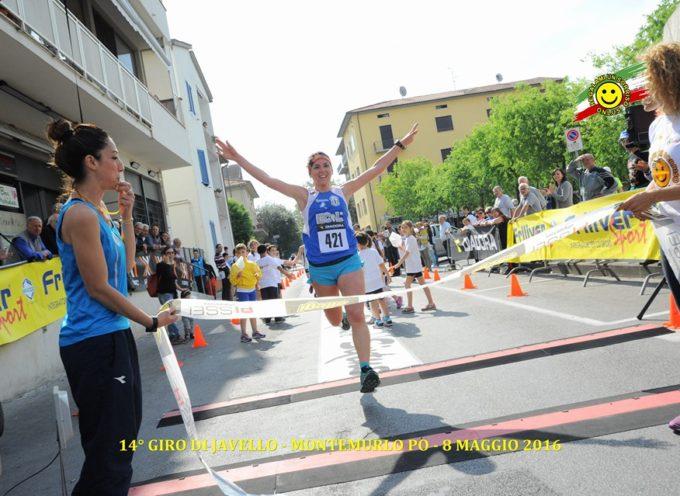 Leanna Fabbri medaglia d'argento alla Lucca Half Marathon 2016