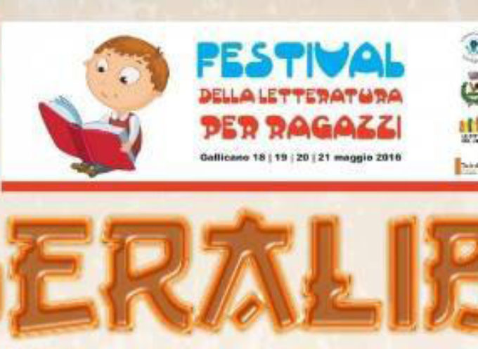 LIBERA-LIBRO Un Festival letterario per ragazzi sabato 21 maggio a Gallicano