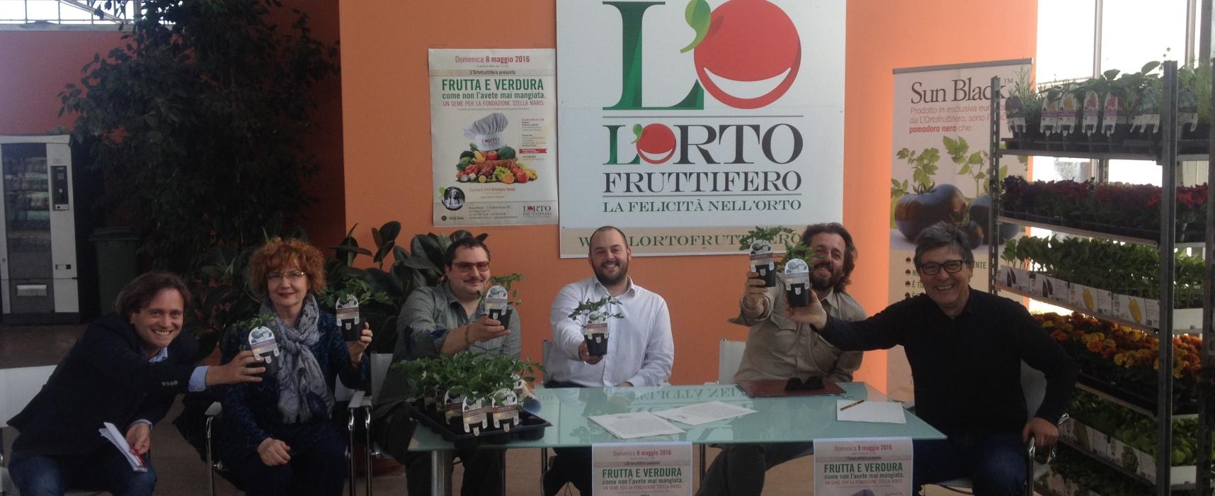 Un Seme per la fondazione Stella Maris Frutta e Verdura come non l'avete mai mangiata