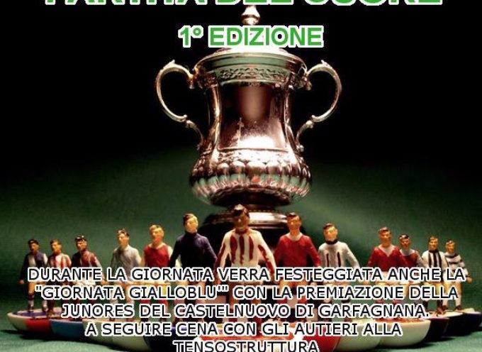 Le glorie del Calcio Garfagnino tutti insieme dalla stessa parte per solidarietà. Un appuntamento da non perdere
