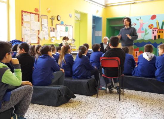 """lucca, incontro con gli studenti della scuola primaria """"Lorenzini"""""""