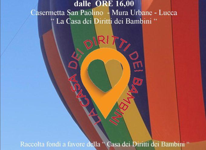 """LUCCA – Il progetto """"Il Sole in Piazza"""" in volo su Lucca, ricordando Vincenzo Lunardi"""