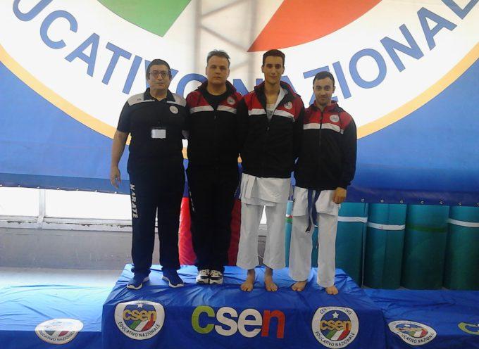 Coppa Italia Csen di karate – Buona prova degli atleti della Soc. Karate Shotokan Porcari