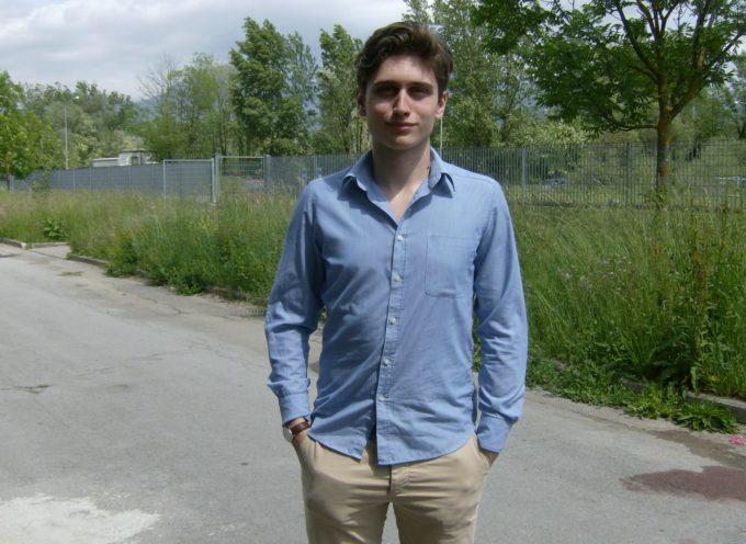 Lunedì e martedì Tommaso Pellegrinetti di Castelnuovo, in gara