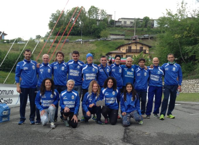 CAMPIONATO ITALIANO DI CORSA IN MONTAGNA , UN SUCCESSO PER  IL G.S. ORECCHIELLA