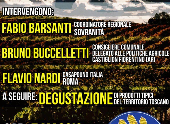 Sovranità: una conferenza sull'importanza dell'agricoltura nell'economia italiana.