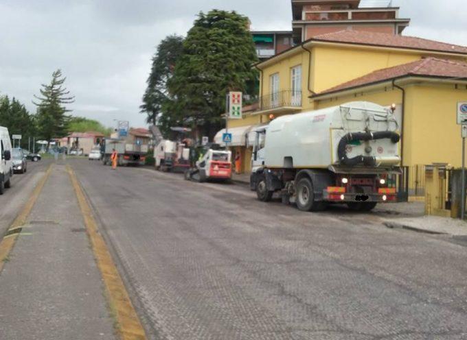 LUCCA: risistemazione dell'asfalto in via Sarzanese, via Galilei e Circonvallazione