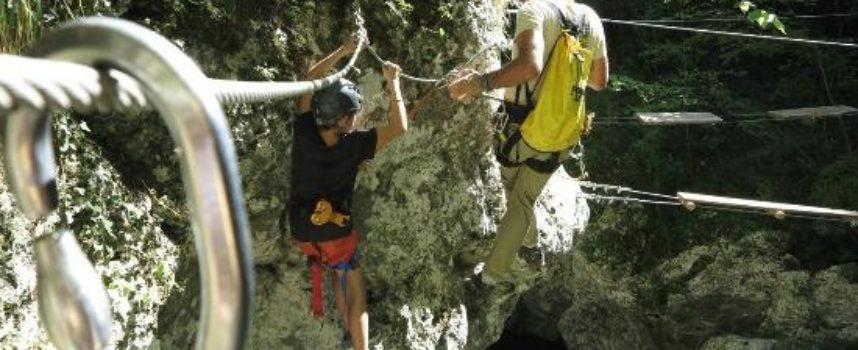 Il Percorso di Canyon Park in tutti i suoi passaggi [video]