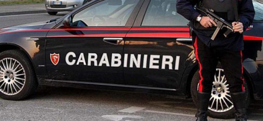 INCONTRO DI PACCHINI (LEGA), PACILIO (M5S) E BALDINI (MC) CON IL COMANDANTE  DEI CARABINIERI CAPITANO CETOLA